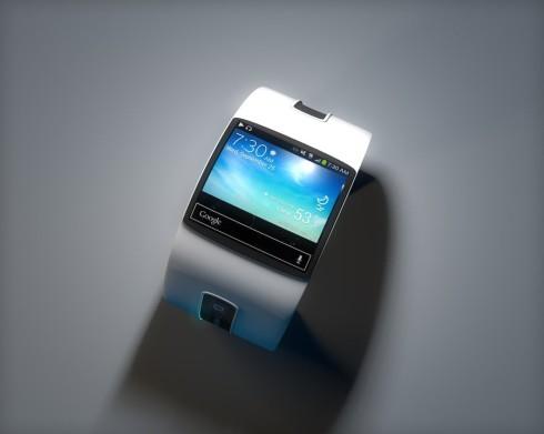 Bản thiết kế đồng hồ thông minh Google mang phong cách Tron 1