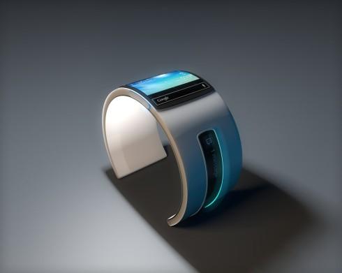 Bản thiết kế đồng hồ thông minh Google mang phong cách Tron 2