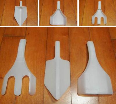 Tái chế chai nhựa thành bộ dụng cụ làm vườn xinh xắn 3