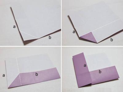 Học cách gấp hộp quà tam giác đơn giản và tiện lợi 2