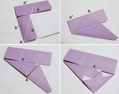 Học cách gấp hộp quà tam giác đơn giản và tiện lợi 3