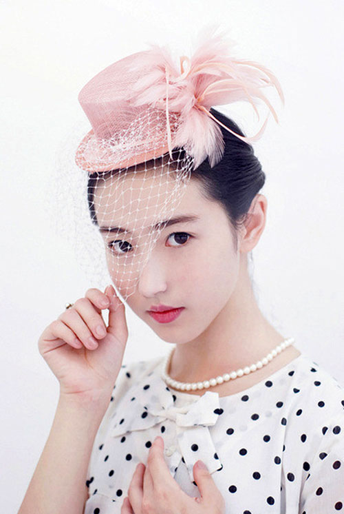 Những hot girl Trung Quốc có vẻ đẹp thiên thần 35