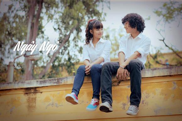 Hà Lade và Chibi Hoàng Yến khoe giọng trong MV mùa chia tay 6
