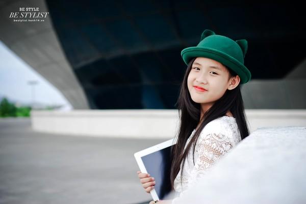 Cô bé 9 tuổi siêu đáng yêu gây sốt tại cuộc thi Be Stylist 24