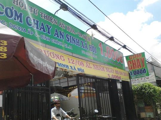 TP HCM: Ấm lòng với quán cơm 1.000 đồng 1