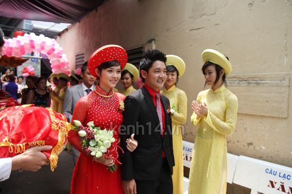 Những đám cưới hoành tráng của các hot girl Việt 62