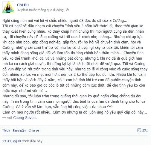 Chuyện tình 3 năm của Chi Pu - Cường Seven, cặp đôi hot nhất với teen Việt 19