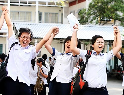 Kết quả hình ảnh cho học sinh thi tốt nghiệp