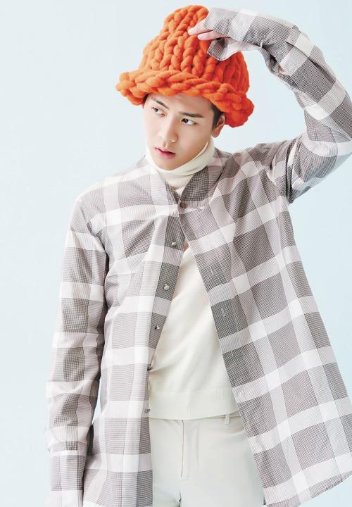 """Giới trẻ Hàn """"sốt"""" với chiếc mũ beanie sợi to ngộ nghĩnh 24"""
