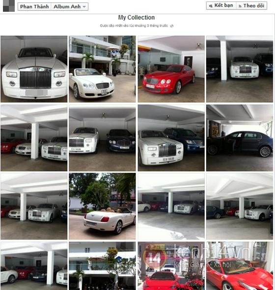 Choáng với BST siêu xe của đại gia Phan Thành - người yêu Midu 2