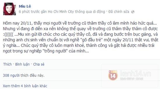 Sao Việt rộn ràng gửi lời tri ân thầy cô ngày 20/11 5