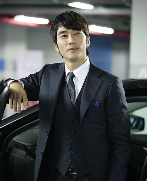 """Song Seung Hun """"say nắng"""" Shin Se Kyung 4"""