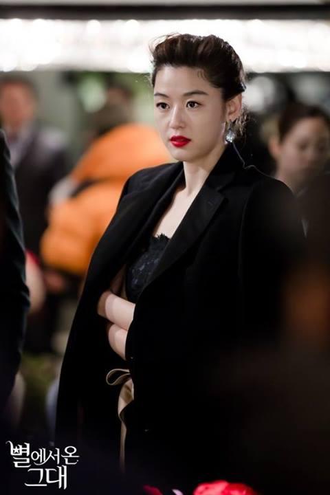 """Jeon Ji Hyun chịu làm """"minh tinh Trái Đất"""" vì Kim Soo Hyun 4"""