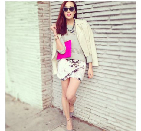"""Skort - Chiếc quần """"tràn ngập"""" street style thế giới Hè 2013 9"""