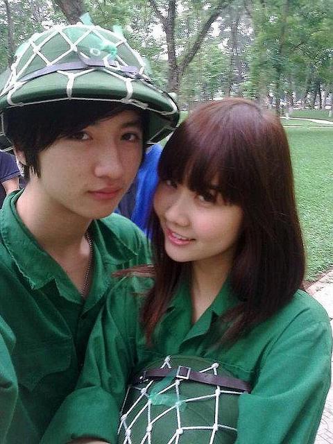 Ngỡ ngàng hot girl Việt giản dị mà cực dễ thương khi mặc quân phục 20