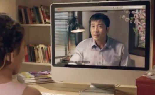 """Gặp """"ông bố"""" trong clip quảng cáo cảm động nhất Tết 2013 2"""