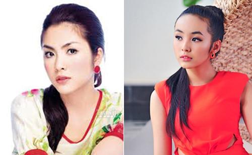 Hai hot girl Việt xinh đẹp cực giống Tăng Thanh Hà 12