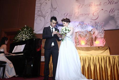 Những đám cưới hoành tráng của các hot girl Việt 4