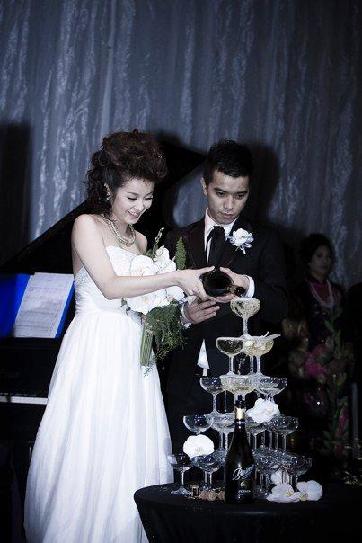 Những đám cưới hoành tráng của các hot girl Việt 11