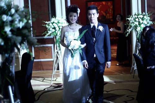 Những đám cưới hoành tráng của các hot girl Việt 10