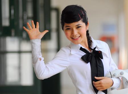 Ngắm hot girl Việt mặc đồng phục giản dị nhưng vẫn cực xinh 22