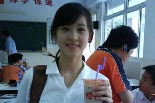 """""""Cô bé trà sữa"""" trở thành hot girl đẹp nhất Trung Quốc 1"""