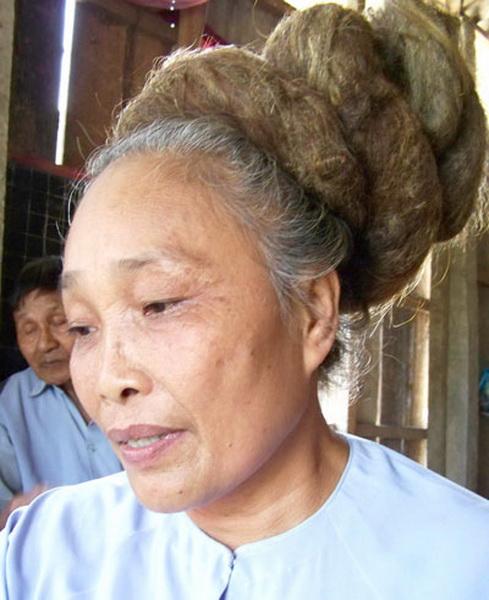 Ngỡ ngàng những mái tóc kỳ dị nhất Việt Nam 9