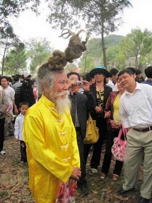 Ngỡ ngàng những mái tóc kỳ dị nhất Việt Nam 3