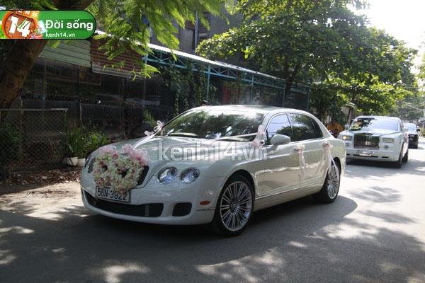 Những đám cưới hoành tráng của các hot girl Việt 20