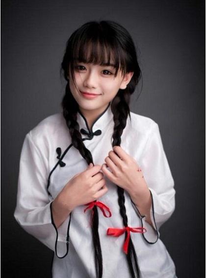 Những hot girl Trung Quốc có vẻ đẹp thiên thần 32