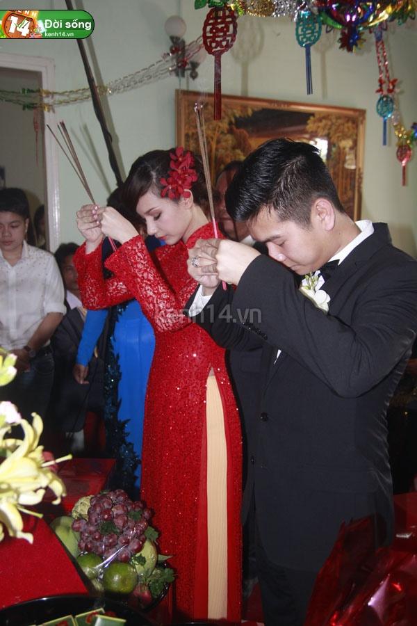 Những đám cưới hoành tráng của các hot girl Việt 32