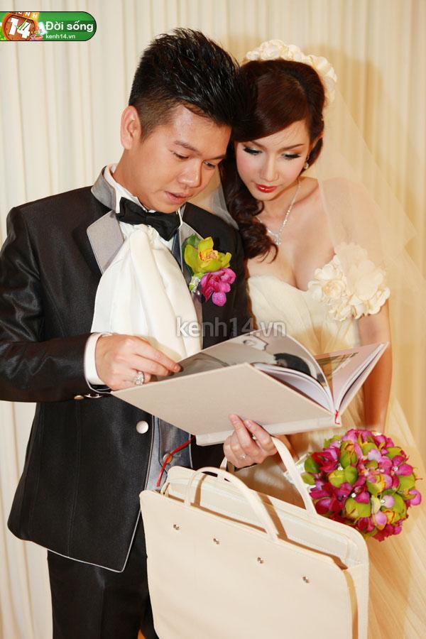 Những đám cưới hoành tráng của các hot girl Việt 42