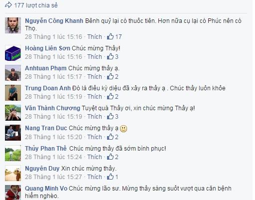 """1 trong 2 """"thần dược"""" giúp PGS Văn Như Cương thắng bệnh ung thư 1"""