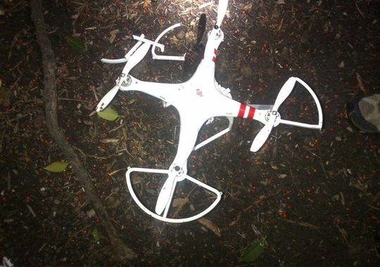 Máy bay không người lái rơi xuống khuôn viên Nhà Trắng 1