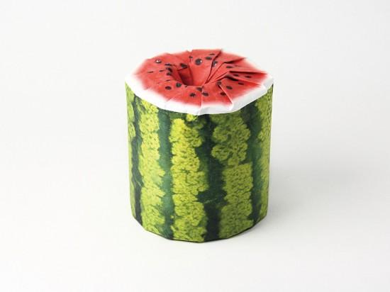 Thích thú với những cuộn giấy vệ sinh có hình trái cây 2