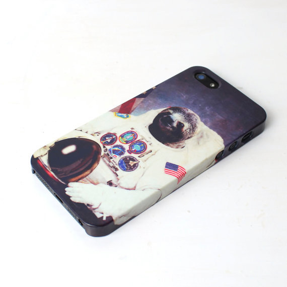 sloth astronaut phone case - 570×570