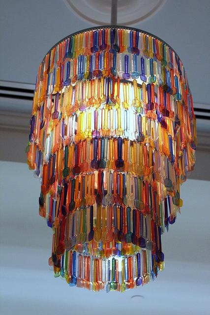 """Tổng hợp 18 ý tưởng sáng tạo đèn chùm """"độc nhất vô nhị"""" 5"""