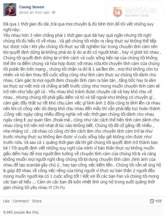 Chuyện tình 3 năm của Chi Pu - Cường Seven, cặp đôi hot nhất với teen Việt 18