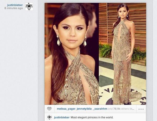 10 điều ngọt ngào nhất Justin Bieber làm cho Selena Gomez 8