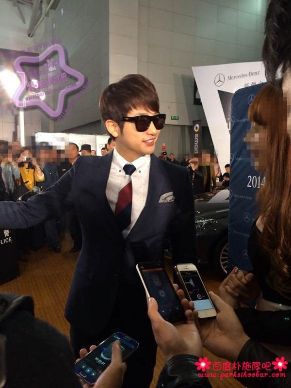 """Bị """"hắt hủi"""" ở Hàn, Park Shi Hoo được chào đón nồng nhiệt tại Trung Quốc 2"""
