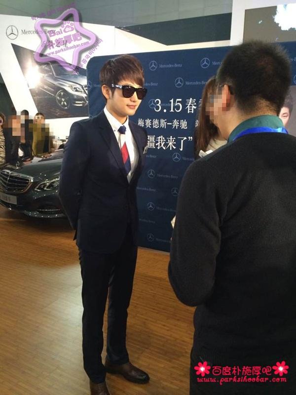 """Bị """"hắt hủi"""" ở Hàn, Park Shi Hoo được chào đón nồng nhiệt tại Trung Quốc 3"""