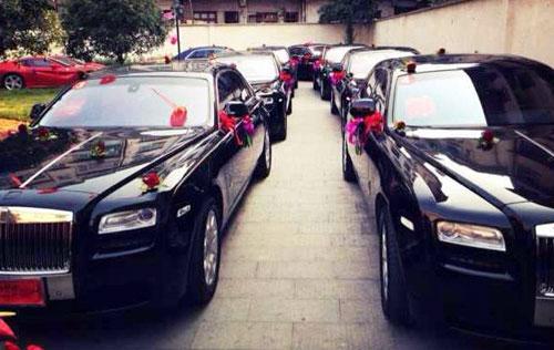 Những siêu đám cưới gây choáng nửa đầu tháng 10 ở Trung Quốc 6