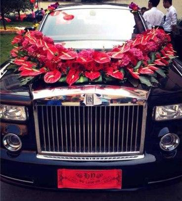 Những siêu đám cưới gây choáng nửa đầu tháng 10 ở Trung Quốc 5