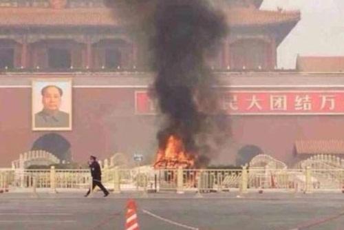Toàn cảnh vụ lao xe chết người ở Thiên An Môn 1