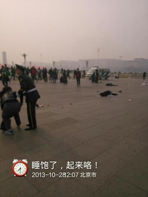 Toàn cảnh vụ lao xe chết người ở Thiên An Môn 6