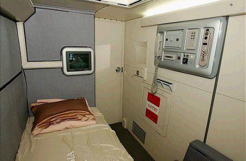 Cận cảnh phòng ngủ trên máy bay của các nữ tiếp viên hàng không 4