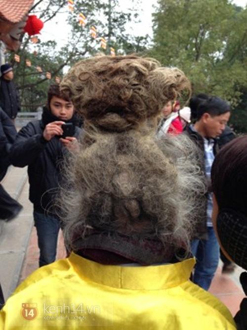 """""""Dị nhân tóc rồng"""" nổi bật nhất Hội Lim 2014 2"""