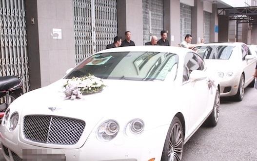 Tròn mắt trước dàn siêu xe rước dâu hoành tráng của đám cưới sao Việt 20