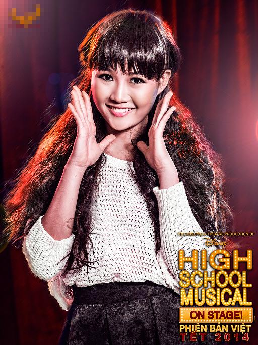 """Tạo hình sặc sỡ chất kịch của """"High School Musical"""" phiên bản Việt 4"""