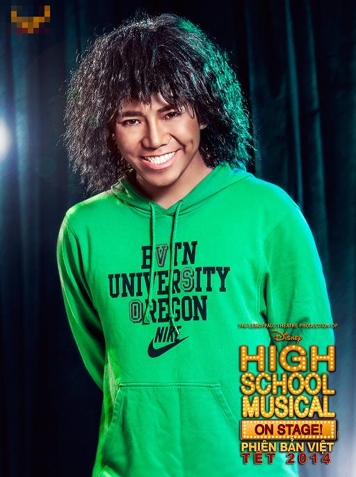"""Tạo hình sặc sỡ chất kịch của """"High School Musical"""" phiên bản Việt 9"""